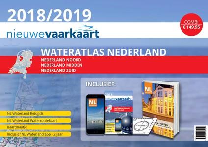 Waterkaart Nederland - 2018 - alles-in-één pakket - Nieuwe Vaarkaart