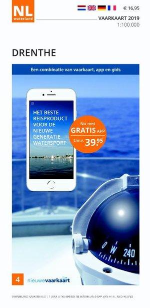 Vaarkaart Drenthe 2019