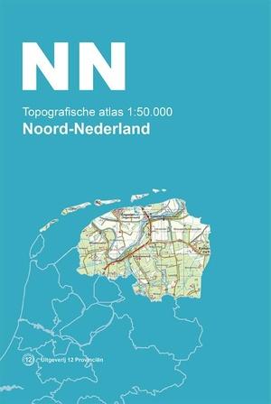 Topografische Atlas 1:50.000 Noord-Nederland