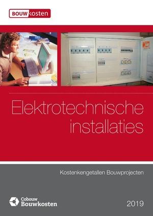 Kostenkengetallen bouwprojecten Elektrotechnische installaties 2019
