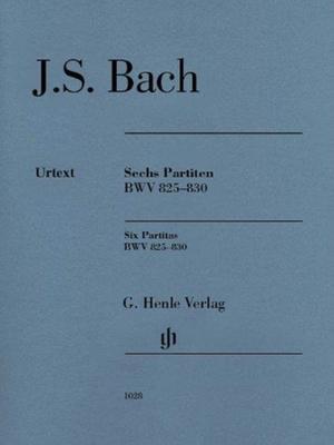 Sechs Partiten BWV 825-830, Urtext