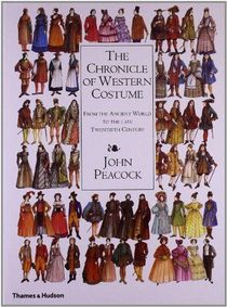 The Chronicle Of Western Costume /anglais