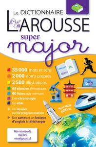 Larousse Dictionnaire Super Major Maghreb