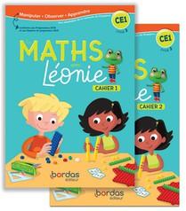 Les Maths Avec Leonie Ce1 2020 Cahiers De L'eleve N01 Et N02 Sous Blister