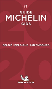 Belgique, Luxembourg ; Guide Michelin Gids (edition 2020)