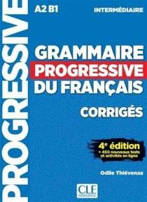 Grammaire Progressive Du Francais ; Corriges ; A2 ; B1 (4e Edition)