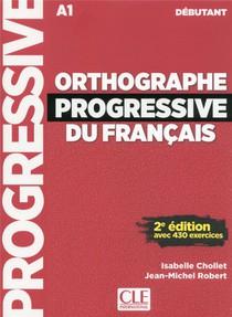Orthographe Progressive Debutant + Cd 2e Edition Nouvelle Couverture
