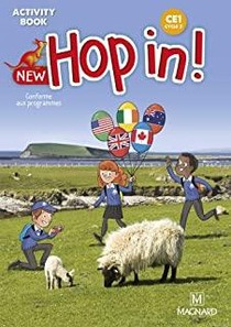 New Hop In! Anglais Ce1 (2021) - Activity Book