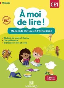 A Moi De Lire ! Ce1 (2021) - Manuel De Lecture Et D'expression