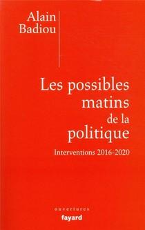 Les Possibles Matins De La Politique