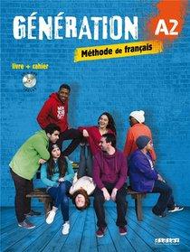 Generation ; Niveau A2 ; Livre + Cahier + Cd Mp3 + Dvd