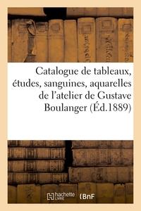 Catalogue De Tableaux, Etudes, Sanguines, Aquarelles Et Dessins, Objets D'art