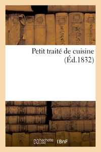 Petit Traite De Cuisine