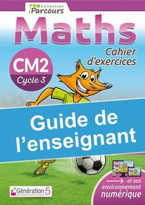 Guide De L'enseignant Cahier Iparcours Maths Cm2 (2020)