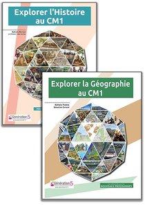 Pack Explorer L'histoire-geographie Cm1