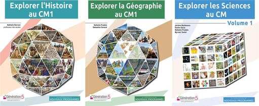 Pack Explorer L'histoire Cm1, Geographie Cm1, Sciences Cm Volume 1