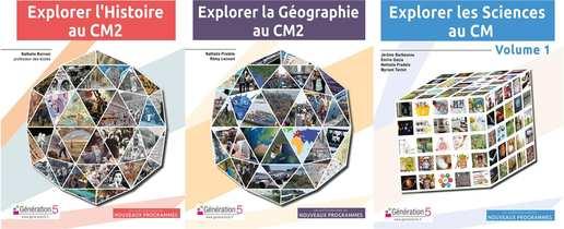 Pack Explorer L'histoire Cm2, Geographie Cm2, Sciences Cm Volume 1