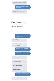 Franck Leibovici De L'amour