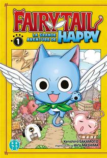 Fairy Tail - La Grande Aventure De Happy T.1