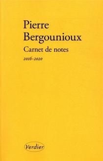 Carnet De Notes, 2016-2020