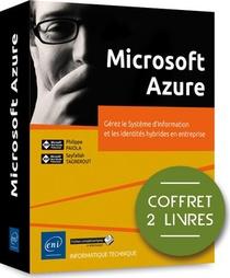 Microsoft Azure ; Coffret De 2 Livres : Gerez Le Systeme D'information Et Les Identites Hybrides En Entreprise