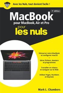 Macbook Pour Macbook, Air Et Pro Poche Pour Les Nuls (4e Edition)
