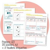 Haut Les Maths Ce1 ! - Posters