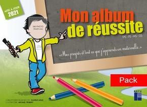 Pack De 10 Mon Album De Reussite : Tps, Ps, Ms, Gs