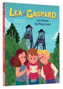 Les Aventures De Lea Et Gaspard T.4 ; Le Tresor Du Pays Noir