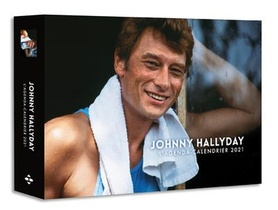 L'agenda-calendrier Johnny Hallyday (edition 2021)