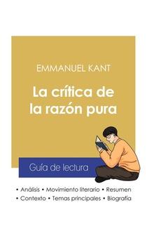 Guia De Lectura La Critica De La Razon Pura De Emmanuel Kant