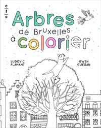 Arbres De Bruxelles A Colorier