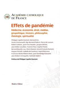 Effets De Pandemie ; Medecine, Economie, Droit, Medias, Geopolitique, Histoire, Philosophie, Theologie, Spiritualite