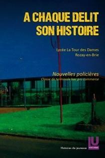 A Chaque Delit Son Histoire : Nouvelles Policieres, Classe De Terminale, Bac Pro Commerce
