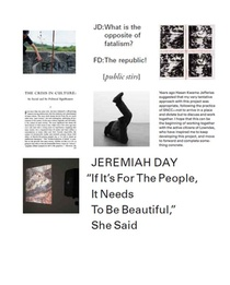 Jeremiah Day - If It's For The People, It Needs To Be Beautiful, She Said