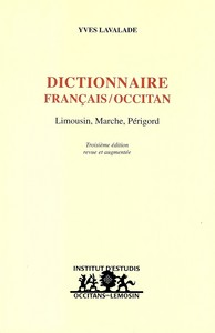 Dictionnaire Francais/occitan (limousin, Marche, Perigord)