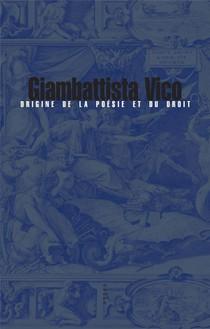 Origine De La Poesie Et Du Droit