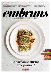 Embruns N 1 - La Cuisine De Nos Mers