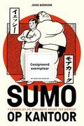 Sumo op kantoor ( Gesigneerd )