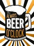 It's always beer o'clock - cadeauboek