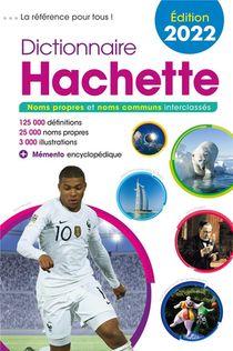 Dictionnaire Hachette (edition 2022)