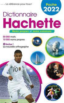 Dictionnaire Hachette Poche (edition 2022)