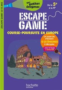 Escape Game ; Course-poursuite En Europe ; De La 5e A La 4e