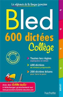 Bled ; 600 Dictees College