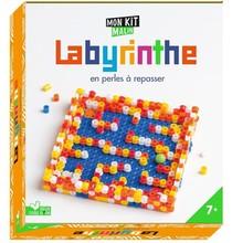 Labyrinthe En Perles A Repasser