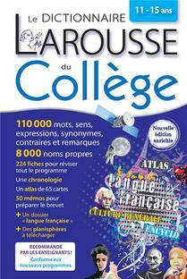 Le Dictionnaire Larousse Du College