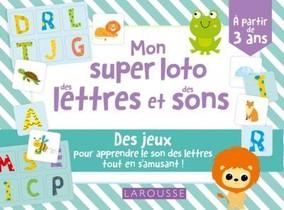 Mon Super Loto Des Lettres Et Des Sons