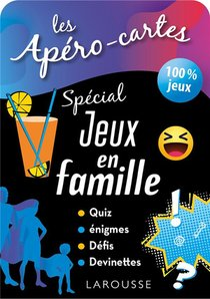 Les Apero-cartes ; Special Jeux En Famille