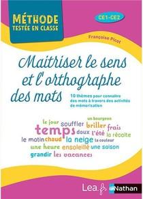 Maitriser Le Sens Et L'orthographe Des Mots : Cycle 2 (edition 2021)