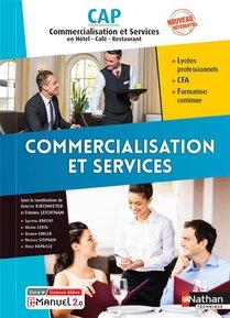 Commercialisation Et Services : Cap Commercialisation Et Services En Hcr (edition 2021)